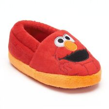 NWT ☀ELMO☀ Slippers Boys New  SESAME STREET  Shoes  TODDLER  9/10
