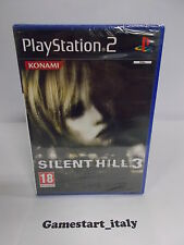 SILENT HILL 3 - SONY PS2 PLAYSTATION 2 - NEW PAL VERSION GIOCO IN ITALIANO NUOVO