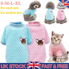 Pet Dog Cat Clothes Knitted Jumper Sweater Puppy Winter Sweater Pajamas Coat Top