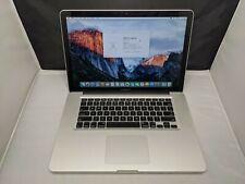 "Apple MacBook Pro A1286 15.4"" Laptop - MD103LL/A - 2.3GHz i7 4GB 500GB"