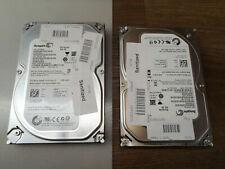 """Lot of 2; 500GB Seagate Barracuda ST500DM002 7200rpm SATA 3.5"""" Hard Drive HDD"""