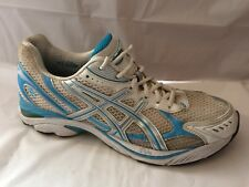 Asics GT 2150 Gel T054N Womens 11 Med Blue White Sneaker Running Shoes Walking