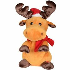 Animated Plush Reindeer Boogie Christmas Decoration Musical Dances Moves Antlers