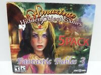 Amazing Hidden Object games Five Pack Fantastic Fables 3 Video Game