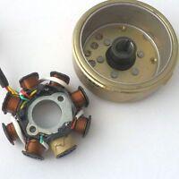 SCOOTER GY6 125CC 150CC QUALIFIED Magneto Stator 8 POLE FLYWHEEL 152QMI 157QMJ