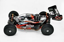 HoBao Hyper SS Nitro RTR w/H-2802T & Turbo Plug P4 14kg servos 2.4G (Black) - HB