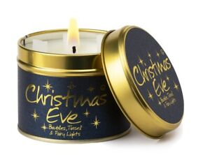 Lilyflame Christmas Eve scented Candle FREE P&P