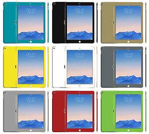 Matt Matte Effect Skin Sticker For iPad Air 2 Wrap Decal Cover Protector Case