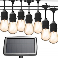 MagicPro Solar String Lights, 15 LED Light Bulbs Solar String Light Waterproof