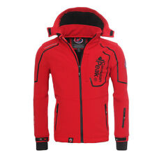 Canadian Peak Geographical Norway Triyuga Giacca Softshell Outdoor  Anti-vento S Rosso bae2143065b
