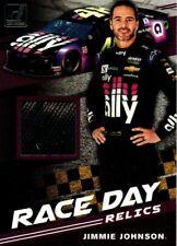 2020 Panini Donruss  Jimmie Johnson Race Day Race Used Tire. NASCAR