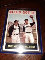 1964 Topps Bill's Got it Virdon Danny Murtaugh 268 NM-MT PITTSBURGH PIRATES
