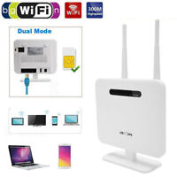 DC 5V Wireless CPE Router With Sim Card Slot 4G LTE Wifi Router 300Mbp Outdoor