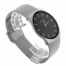 SKAGEN MEN'S ULTRA SLIM LUXURY DRESS STYLE WATCH SKW6019