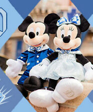 Disneyland 60th Diamond Celebration Mickey and Minnie Mouse Plush Toy 2016