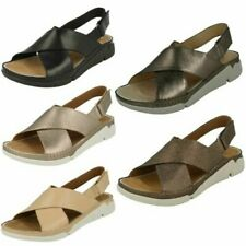 Clarks Ladies Casual Summer Sandals - Tri Alexia