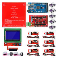 3D Printer Kits for Arduino Reprap Ramps 1.4 Mega2560 12864 LCD Controller