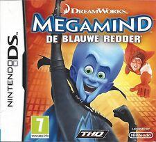 MEGAMIND DE BLAUWE REDDER voor Nintendo DS NDS