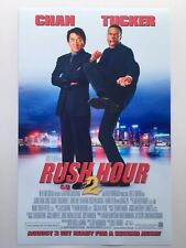 Rush Hour 2 11x17 Movie Poster (2001)