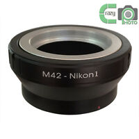 M42-Nikon 1 M42 Screw Lens to Nikon1 N1 J1 J2 J3 J4 S1 V1 V2 V3 AW1 Adapter Ring