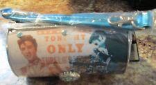 Elvis Presley Metal Cylinder Tote New