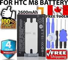 【 Original OEM 】 HTC One M8 Replacement Battery M8x B0P6B100 2600mAh + Tools