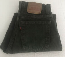 Levi's Women's 551 Relaxed Fit Tapered Leg Green Jeans Size 10 Vintage USA READ