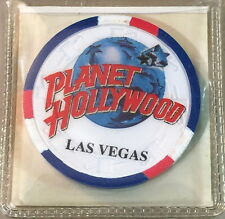 Planet Hollywood LAS VEGAS 2000s PROMOTIONAL Casino POKER CHIP NCV Mint New!