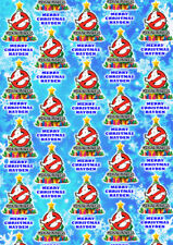 GHOSTBUSTERS Personalised Christmas Gift Wrap - Ghostusters Wrapping Paper