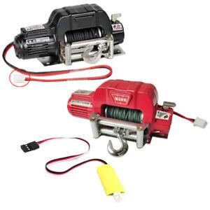 Metal Electric Winch for 1:10 RC Car Crawlers TRX4 SCX10 II 90046 Redcat AU