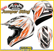 Casco Cross-Enduro AIROH JUMPER STING Taglia XS 53/54