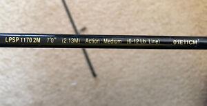 SHAKESPEARE UGLY STIK LITE PRO - LPSP 1170 2M  7' - 2 Piece Spinning Rod