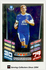 2012-13 Match Attax Star Player Foil Card #364 Nikica Jelavic (Everton)