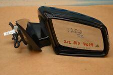 10-13 W212 MERCEDES E350 E550 RIGHT PASSENGER DOOR SIDE MIRROR BLACK 2128107619