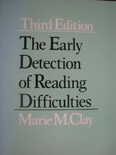 The early detection of reading difficulties,Marie M Clay