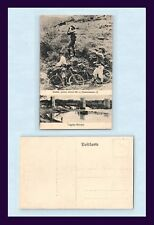 Uk Colonial Boer War Komdt Koos Jooste, Bicycles And Destroyed Tugela Bridge