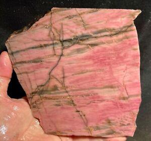 Large Rhodonite Rough Slab!