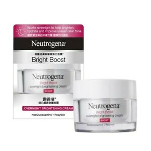 Neutrogena Bright Boost Overnight Brightening Cream 50g