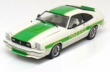 FORD MUSTANG II 2 COBRA 2 1978 WHITE GREEN GREENLIGHT COLLECTIBLES 12895 1/18