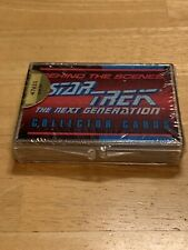 Skybox Star Trek The Next Generation Behind The Scenes Collectors Cards Sealed