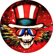 Grateful Dead Uncle Sam Sticker Decal Jerry Garcia Hippie Jam Band Rock n Roll