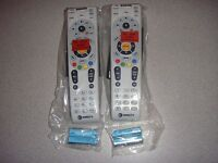 DIRECTV RC66RX IR/RF UNIVERSAL REMOTE CONTROL LOT OF 2 RC65RX RC64RX 2 PACK NEW