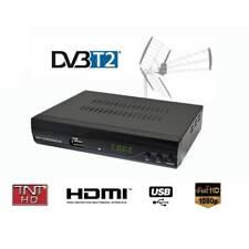 Décodeur TNT HD TV H.264 Full HD - USB HDMI et PERITEL - DVB-T2 - Exp 24H