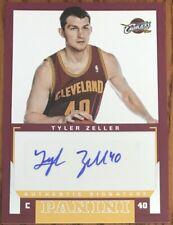 2012-13 Panini Rookie Signatures Tyler Zeller #16 Cleveland Cavaliers
