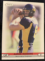 2005 SAGE HIT AARON RODGERS ROOKIE CARD RC #8 GREEN BAY PACKERS  RC