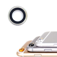 """Glass Camera Lens Cover Ring Silver For iPhone 6S Plus 5.5"""""""