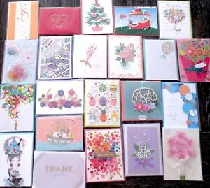 LOT 22 Papyrus Greeting Cards  ALL Occasions SEALED NO RESERVE HIGH BIDDER WINS