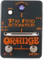 Orange Amp-Detonator Buffered ABY Switcher Pedal NEW + FREE 2DAY SHIPPING!