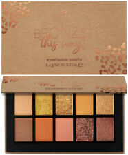 "ESSENCE LE ""BRONZED this way!""  eyeshadow palette (10 shades)  NEU&OVP"
