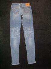True Religion Shannon Jeans Wmn Sz 26 Low Skinny w Stretch Distressed Wash